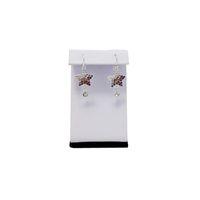 grandes stands de exhibición de joyas al por mayor-Kit de Exhibición de la Joyería al por mayor de 10 Caballetes de Pendientes Grandes titular de pendientes Z en Forma de Soporte de 7.5 cm de Altura Envío Gratis