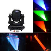 Wholesale Moving Head Gobo Beams - NJ-L200 Hot sell 200w led sharpy moving head beam light With double prism wash gobo zoom light