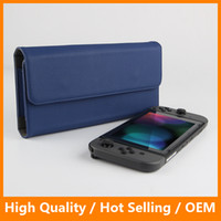 Wholesale Nintendo 3ds Travel Case - Travel Protective Pouch Bag for Nintendo Switch 3DS Game Leather Carry Bag Shockproof Case for Nintendo Switch 3DS