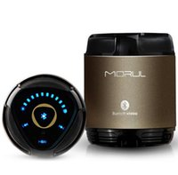 Wholesale Mobile H1 - Morul H1 Mini Portable Wireless Bluetooth Speaker Subwoofer Outdoor Handsfree NFC Speaker for iphone 6 6s xiaomi Mobile Phone PC