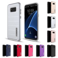 Wholesale Iphone V5 - For Samsung Galaxy S8 Case Captain Design Caseology Hybrid Armor Cases For LG V5 Dual Layer Case TPU PC Back Cover S8 Plus