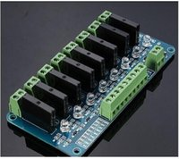 Wholesale Omron Ssr - 5V 12V 24V 2A High Level 8 Channel For OMRON SSR G3MB-202P Solid State Relay Module For Arduino