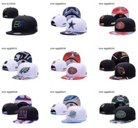 Wholesale Girl Sports Caps - 2017 Fashion Basketball Snapback Hats sports All Teams Caps Men's Women's Adjustable Football Cap Size More Than 10000+ style