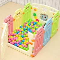 Wholesale Infants Playpens - Baby Playpens baby safety gate children thickening fencing child fence baby infant fence kids play free shipping
