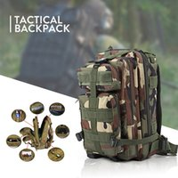 Wholesale 2017 Men Women Backpack Outdoor Military Army Tactical Backpack Trekking Sport Travel Rucksacks Camping Hiking Camouflage Bag