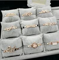 Wholesale Swan Set - Wholesale Korean lady Bracelet, Rhinestone Alloy Opal, Swan Creative Explosion, Free Delivery