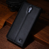 Wholesale Galaxy Mega Leather - High Quality Leather Case For Samsung Galaxy Mega 2 G7508Q Case Flip Cover For Samsung G7508Q Case Phone Cover