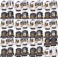 Wholesale Golden Beige - Vegas Golden Knights 2018 New Season Hockey Jerseys Nate Schmidt Erik Haula Brad Hunt James Neal Brayden McNabb Malcolm Subban Jersey