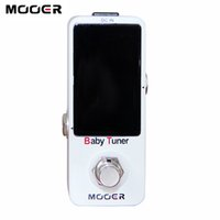 Wholesale guitar pedal mooer - MOOER Baby Tuner Very small and compact design NEW Effect Guitar LED effect Pedal