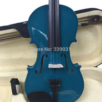 Wholesale student Violin VIOLIN FIDDLE CASE Violin Bow dark blue