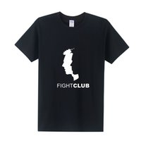 Wholesale Fight Club - New Arrival Fight Club T Shirt Men Printed T-shirt 2016 Summer Short Sleeve Cotton T Shirts Tops Free Shipping OT-263