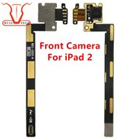 Wholesale Ipad Iphone Camera Lens - Front Face Camera Lens Flex Cable Ribbon For iPad 2 2nd Gen Replacement Front Facing Camera Repair Part for ipad2