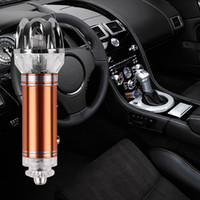Wholesale Ion Air Cleaners - Gift Boxed Car Air Purifier 12V Negative Ions Air Cleaner Ionizer Air Purifier Car Dust Smoke PM2.5 Eliminator For Car Home Office