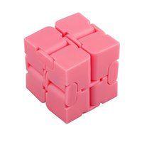 Wholesale science puzzle resale online - Novelty Newest Infinite Cube Fidget Infinity Cube Plastic Creative Magic Cubes Office Flip Cubic Puzzle Anti Stress Relax Toys