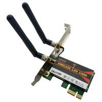 Wholesale wireless g express card resale online - AGN a b g n M Pci e X X G PC Desktop WIFI WLAN Card Network Adapter Intel Centrino Advanced N