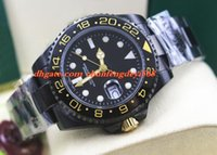 Wholesale Dlc Pvd - Fashion Luxury Black II Life Ceramic Bezel 116710 In DLC PVD Automatic Movement Men Watches Top Quality