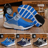 Wholesale Socks Shoe For Kids Girl - 2017 New Kids Fragment X Socks Dart Air Presto Fur leather running Boots shoes for Boys & Girls discount Children trainers Sneakers shoes