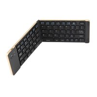 Wholesale android tablet retail for sale - Group buy Universal Foldable Aluminum Wireless Bluetooth Keyboard for iPhone iOS Android Smartphone Tablet Laptop Slim Keyboard In Retail Packing