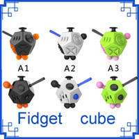 sports gifts desks - 2017 New Magic Fidget Cube Generation Fidget Cube Strange Shape Magic Cube vinyl desk toy funny Decompression creative gift