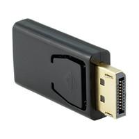 стерео женский оптовых-Высокое качество стандартный Displayport дисплей порт DP мужчин и женщин HDMI адаптер конвертер для Macbook Pro воздуха Retina HDTV ПК