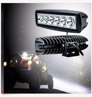 Compra Luci Di Bar Led Suv-2PCS 18W 6