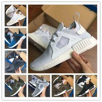 Cheap High quality NMD XR1 Hommes et Femmes vert olive Glitch Noir Rouge Blanc Bleu Camo Primeknit Runing Shoes Chaussures sportives 36-44