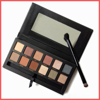 Wholesale 12 Mm - Free Shipping by ePacket New Makeup Eye MM Palette 12 colors High Quality Mario Eyeshadow with brush! In stock