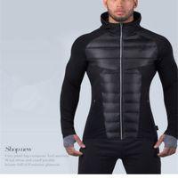 Wholesale Winter Park - winter man jacket with cotton parks Men's famous brand windproof thick Warm park for Short coat Top quality clothes M-XXL