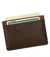 rucksack-brieftasche großhandel-Klassische Männer Frauen Marke Leder Kartenhalter Handtasche Schultertaschen Totes Tasche Rucksack Geldbörse Brieftasche 666q kostenloser Versand