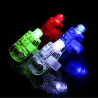 Wholesale Neon Stick Luminous - 100Pcs Finger Light Shiny Neon Stick Laser Finger Beams Colorful LED Ring Luminous Toy Glow Dance Toy Shinning Ring Party Supply