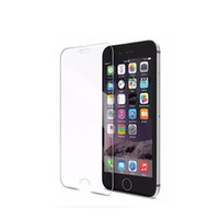 Wholesale Glossy Case Iphone 4s - 9H tempered glass For iphone 4s 5 5s 5c SE 6 6s plus 7 plus screen protector protective guard film front case cover +clean kits