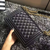 Wholesale Leather Lock Stripes - high quality design genuine leather handbag and purses women messenger bag handbag women famous brand 2017 shoulder bags fashion michael cc