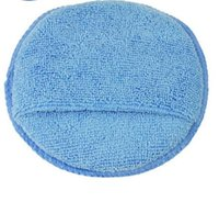Wholesale Pack Car Microfiber Wax Applicator Pads Auto Care Polishing Sponges quot Diameter with pocket