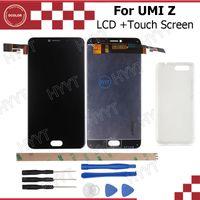 outils d'assemblage iphone achat en gros de-Vente en gros - Écran LCD et écran tactile UMI Z Original 1920x1080 Assembly Repair Part 5.5 inch Pour UMI Z / UMI Z PRO + Housse en Silicone + Outils