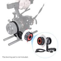 Wholesale Camera Shoulder Rig Focus - Follow Focus with Gear Ring Belt for DSLR Camera Camcorder DV Video Fits 15mm Rod Film Making System,Shoulder Support,Stabilizer, Movie Rig