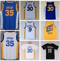 Wholesale Christmas Shirts For Men - Cheap Discount 35 Kevin Durant Shirt Uniform 11 Klay Thompson Jersey 9 Andre Iguodala 23 Draymond Green Chinese Throwback Christmas For Sale