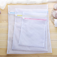 Wholesale Washing Bags For Bras - Mesh Laundry Wash Bags (3 Pack) Large, Medium, Small Zippered Washing Machine Bags for Lingerie, Delicates and Bras