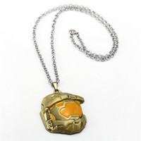 Halo: Spartan Assault Necklace Unisex New Metal Pendant Juego popular Necklace