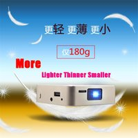 Wholesale Dlp Pocket - Wholesale- Sale!!!Handy Mini Projector D5S Bluetooth Wifi Home Theater Pico Portable Pocket LED USB DLP Android 4.2 dual core 1GB 8GB