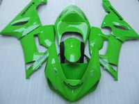 Kit de carenagens de motocicleta novo para Kawasaki ZX6R ZX-6R 05 06 Ninja 636 2005 - 2006 ABS Covers carenagem Cowling verde brilhante