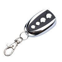 duplicador de llaves de coche universal al por mayor-Venta al por mayor-la más nueva llegada universal ABCD Key Control 433.92MHZ Clonación remota 4 canales Auto Car Garage Door Duplicator Rolling Code para Ca