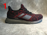 Wholesale Nest Fabric - 2017 Free Shipping Ultra Boost Bird Nest Custom Sneakers Men 3D Printed Sports Running Shoes