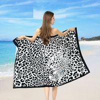 Wholesale Bath Materials - DHL free shipping 100% microfiber material big size 180x100cm sexy beach towel