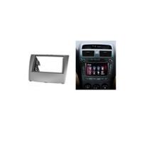 Wholesale Dvd Bezel - Interior Parts Fascias Double Din Fascia For BYD L3 2010+ Radio DVD Stereo Panel Dash Mounting Installation Trim Kit Frame Bezel