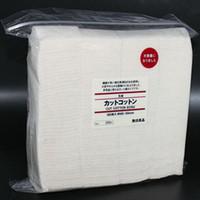 tejidos de algodón orgánico al por mayor-Auténtico japonés puro algodón orgánico bricolaje muji algodón mechas algodones tela japón almohadillas 180 unids Para DIY RDA RBA vaporizador atomizador