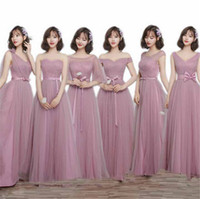 Wholesale Evening Dress Padded - Evening Dresses Padded Trailing Flutter Sleeve Long Women Gown Chiffon Summer Style Special Occasion ransparent Banquet Sexy Prom Dress