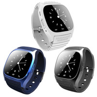 ingrosso guarda iphone sync-Bluetooth Smart Watches Sport M26 Smartwatch Sync chiamate telefoniche anti-perso per iPhone e smartphone Android Phone Smart Electronics