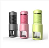 Wholesale Mini Portable Capsule - Mini Hand coffee machine, portable coffee machine, portable coffee maker free shipping