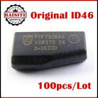 Wholesale Locksmith Wholesale Key Blanks - 100pcs lot original PCF7936AS ID46 ORIGINAL Auto key transponder chip ID46 blank chip PCF7936, Locksmith Tools pcf 7936 High Quality