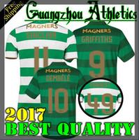 1a67de726 Soccer Men Short TOP Quality 2017 2018 Celtic FC Home Soccer Jersey 17 18 Celtic  Griffiths